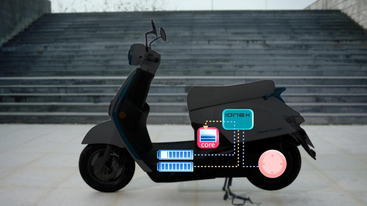 New Electric Scooter By Skip Comes With Waterproof Batteries
