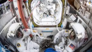 Hopes Rise For Colonizing Space As Astronauts Harvest Space-Grown Food