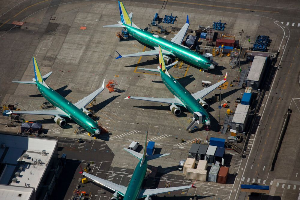 Being to suppliers: No 737 Max parts for a month as crisis prompts production halt.
