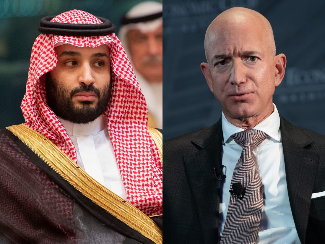 Jeff Bezos' iPhone Gets Hacked, Investigations Show Saudi Prince As A Suspect